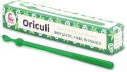 Lamazuna Oriculi Bioplastic Ecological Ear Cleaner (Green) 1s'
