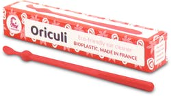 Lamazuna Oriculi Bioplastic Ecological Ear Cleaner ( Red) 1s'