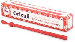 Lamazuna Oriculi Bioplastic Ecological Ear Cleaner (Red) 1 Pack