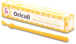Lamazuna Oriculi Bioplastic Ecological Ear Cleaner (Yellow) 1s'