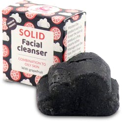 Lamazuna Solid Facial Cleanser Combination/Oily Skin (Grapefruit) 25g