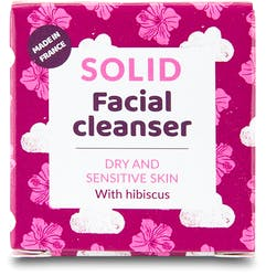 Lamazuna Solid Facial Cleanser-Dry/Sensitive Skin with Hibiscus 25g