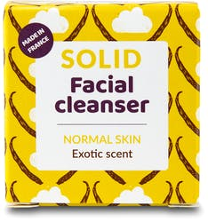 Lamazuna Solid Facial Cleanser - Normal Skin with Exotic Scent 25g