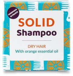 Lamazuna Solid Shampoo-Dry Hair with Orange 55g
