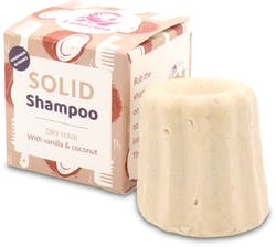 Lamazuna Solid Shampoo - Dry Hair (Vanilla & Coconut) 55g