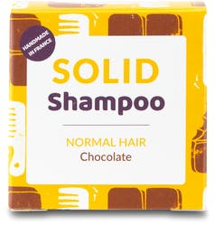 Lamazuna Solid Shampoo - Normal Hair with Chocolate Scent 55g