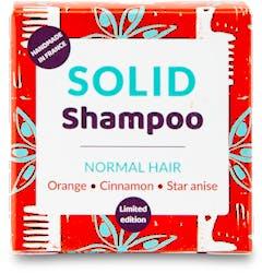 Lamazuna Solid Shampoo - Normal  Hair with Orange, Cinnamon & Star Anise 55g