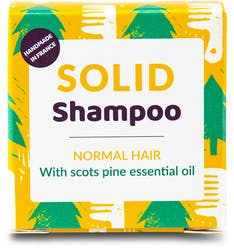 Lamazuna Solid Shampoo - Normal Hair with Scotch Pine 55g