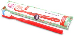 Lamazuna Toothbrush - Medi um (Red) 1s'