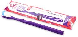 Lamazuna Toothbrush Medium (Purple) 1 Pack