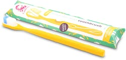 Lamazuna Toothbrush - Medium (Yellow) 1s'