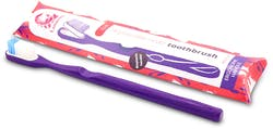 Lamazuna Toothbrush Soft (Purple) 1 Pack
