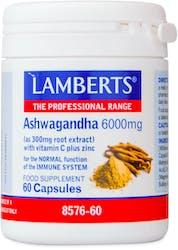 Lamberts Ashwagandha with Vitamin C plus Zinc Complex 60 Capsules