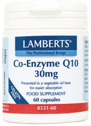 Lamberts Co Enzyme Q 10 30mg 60 Caps