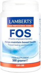 Lamberts Fos(Fructo-Oligosaccharides) 500g Powder