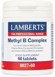Lamberts Methyl B Complex 60 Tablets