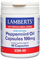 Lamberts Peppermint Oil Capsules 100mg 90 Caps