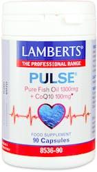 Lamberts Pulse Pure Fish Oil 1300mg and CoQ10 100mg 90 Capsules