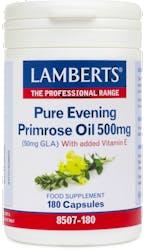 Lamberts Pure Evening Primrose Oil 500mg 180 Caps