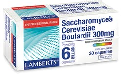 Lamberts Saccharomyces Cerevisiae Boulardii 300mg 30 Capsules