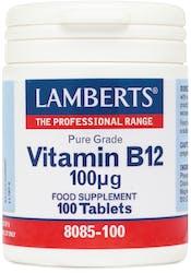 Lamberts Vitamin B12 100mcg 100 Tablets