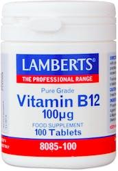 Lamberts Vitamin B12 100 Tablets