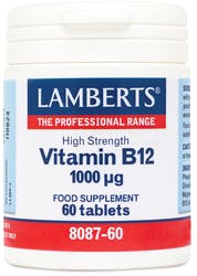 Lamberts Vitamin B12 1000ug 60 Tablets