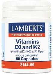 Lamberts Vitamins D3 1000iu And K2 90µg 60 Caps