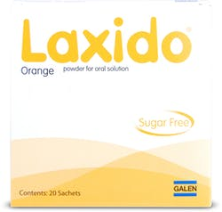 Laxido Orange Sugar Free Sachets 20s