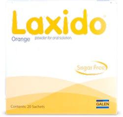 Laxido Orange Sugar Free Sachets 20s