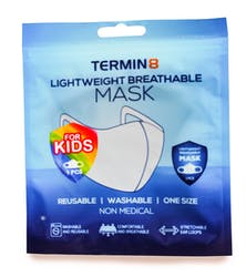 Lightweight Reusable Non-Medical Face Covering Kids Size 1s