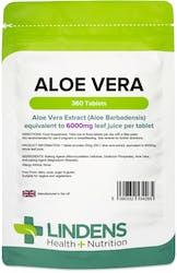 Lindens Aloe Vera 6000mg 360 Tablets