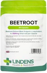 Lindens Beetroot 3500mg 50 Capsules