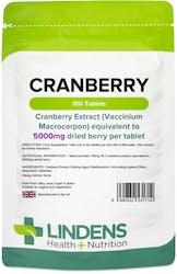 Lindens Cranberry 5000mg 100 tablets