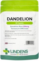 Lindens Health + Nutrition Dandelion 250mg 60 Capsules