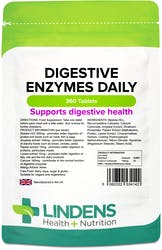Lindens Digestive Enzymes Daily 360 Tablets