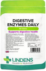 Lindens Digestive Enzymes Daily 90 Tablets