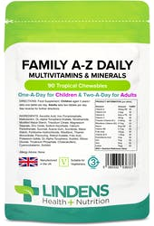 Lindens Family A-Z Daily Multivitamin