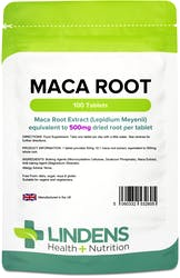Lindens Maca 500mg 100 Tablets