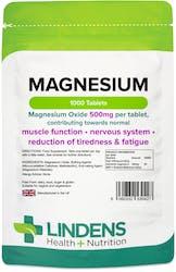 Lindens Magnesium (MgO 500mg) 1000 Tablets
