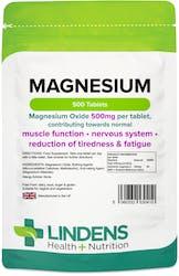 Lindens Magnesium (MgO 500mg) 500 Tablets
