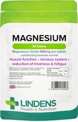 Lindens Magnesium (MgO 500mg)90 Tablets