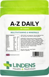 Lindens Multivitamins A-Z Daily 90 Tablets