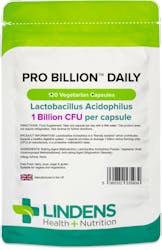 Lindens Health + Nutrition Pro Billion Daily 1BN 120 Veg Capsules