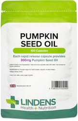 Lindens Pumpkin Seed Oil 300mg 100 Capsules