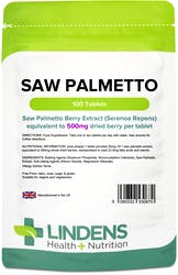 Lindens Saw Palmetto 500mg 100 Tablets