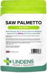 Lindens Health + Nutrition Saw Palmetto 500mg 365 Tablets