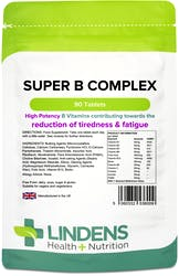 Lindens Super Vitamin B Complex 90 Tablets