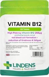 Lindens Health + Nutrition Vitamin B12 (250mcg) 120 Tablets