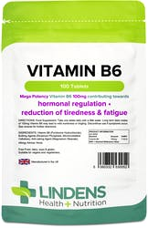 Lindens Vitamin B6 100mg 100 Tablets